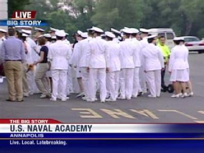 Naval Academy Set To Graduate 1,000 Midshipmen