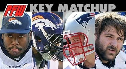 Key matchup: Broncos pass rushers vs. Patriots O-line