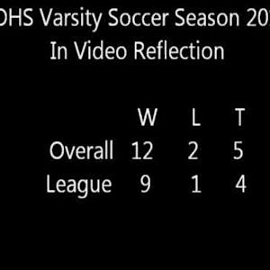 COHS Varsity Soccer Year in Video Reflection