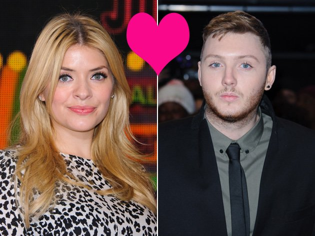 Holly Willoughby James Arthur