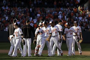 Orioles have differing views of up-and-down season