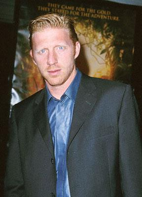 Tennis legend Boris Becker at the Mann Village Theatre premiere of Dreamworks' The Road To El Dorado in Westwood, CA