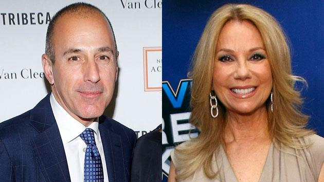 Matt Lauer and Kathie Lee Gifford