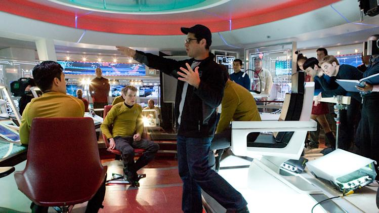 Director J.J. Abrams Star Trek Production Stills Paramount 2009