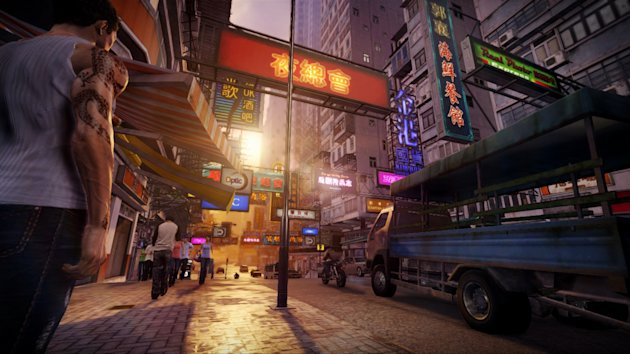 "This video game image released by Square Enix shows a scene from ""Sleeping Dogs."" (AP Photo/Square Enix)"