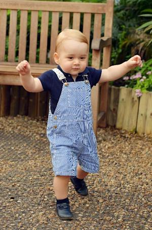Prince George at London's Natural History Museum…