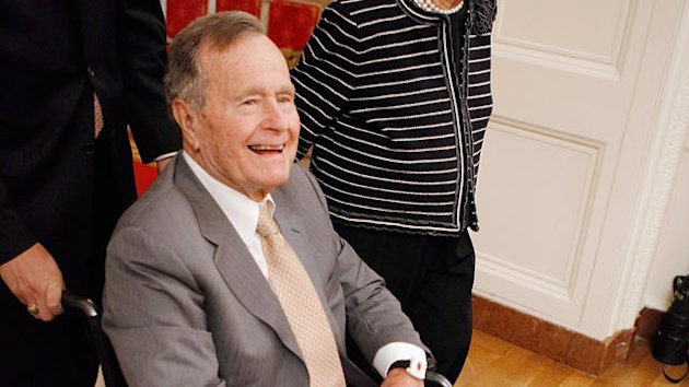 George H.W. Bush in Intensive Care (ABC News)