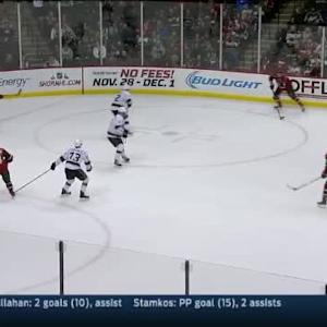 Martin Jones Save on Marco Scandella (17:33/3rd)