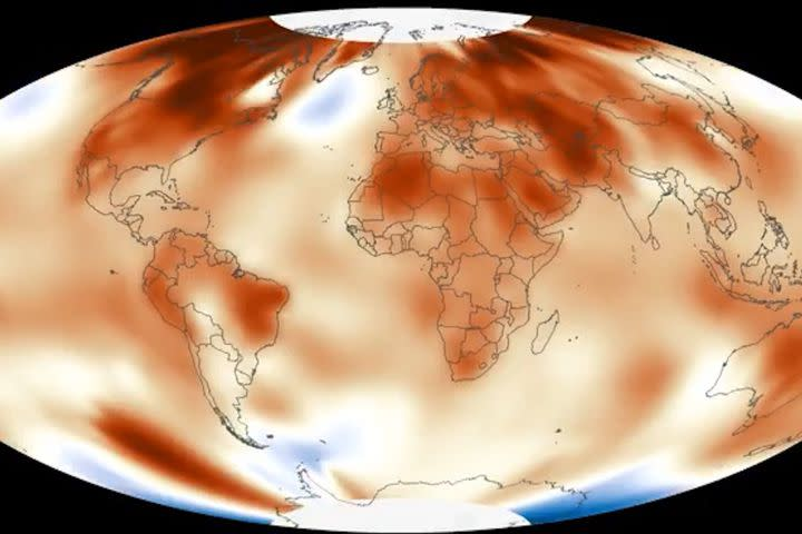 These 3 graphics explain 2016's record warmth