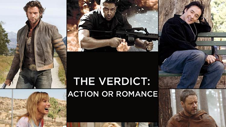 The Verdict Action or Romance Title Card