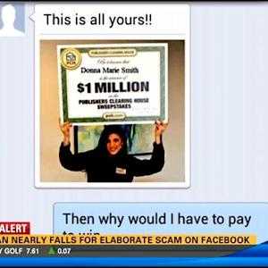 Woman nearly falls for elaborate scam on Facebook