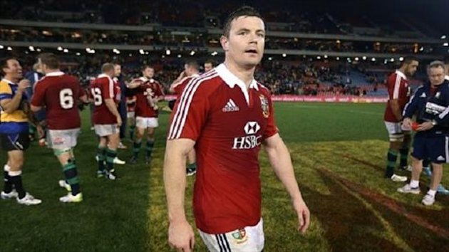 Brian O'Driscoll's is gutted to be dropped for the final Test (PA Photos)