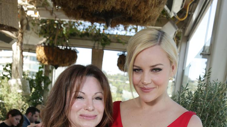 FILE - This Wednesday, March 13, 2013 publicity photo provided by The Hollywood Reporter shows Jessica Paster, left, and Abbie Cornish at The Hollywood Reporter and Jimmy Choo Celebration of the Most Powerful Stylists in Hollywood, in Los Angeles.(AP Photo/The Hollywood Reporter, Eric Charbonneau)
