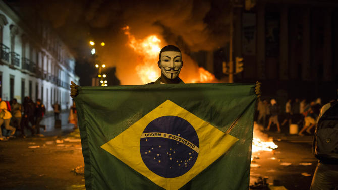 Few options for Brazil leader in face of protests