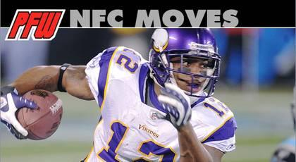 2013 NFC free-agent moves, by team