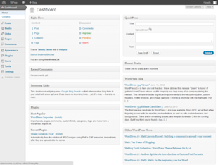 Understanding and Customising the WordPress Dashboard image woordpress 34 dashboard 640x483