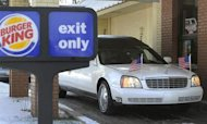Hearse Takes Fast Food Fan For Final Drive-Thru