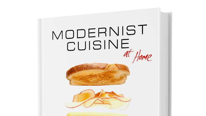 """In this undated image released by Modernist Cuisine, LLC, the cover of """"Modernist Cuisine at Home"""" is shown. (AP Photo/Modernist Cuisine, LLC, Melissa Lehutta)"""