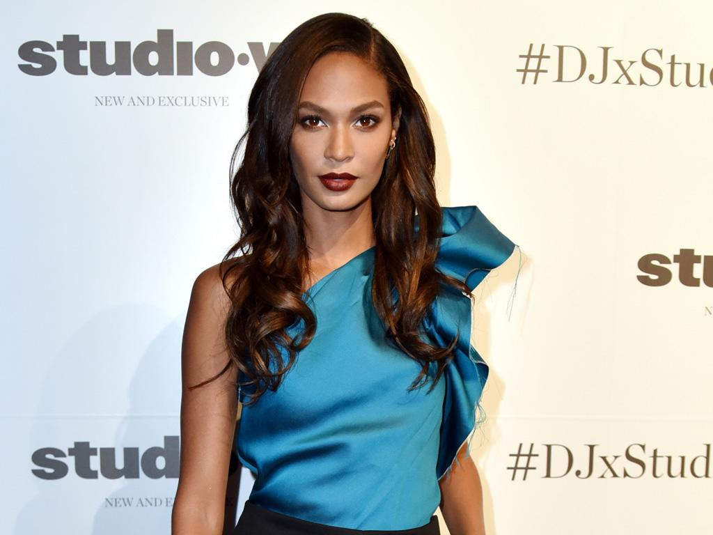 Joan Smalls takes the easy route with accessorising
