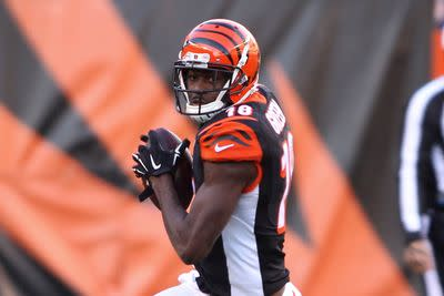 A.J. Green misses practice, but expected to play for Bengals