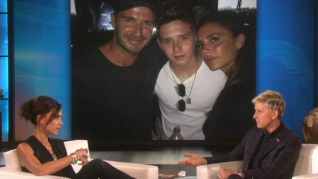 Victoria Beckham Reveals Brooklyn Beckham Works as a Busboy