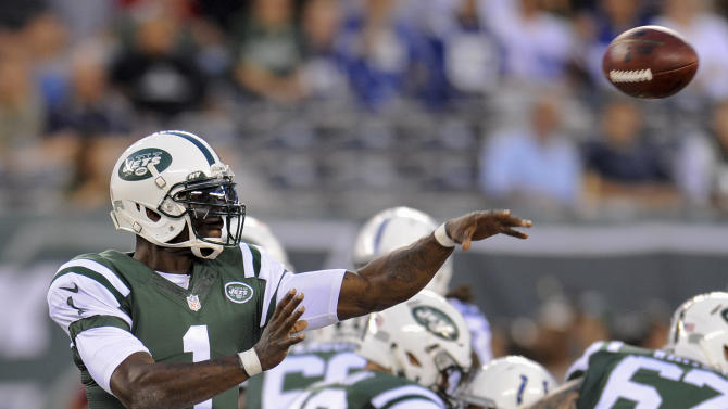No change with Jets QBs: Still Smith, then Vick