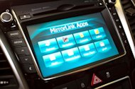 Connectivity Concept touchscreen with mirrorLink