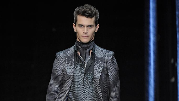 Roberto Cavalli - Mens Spring Summer 2013 Runway - Milan Menswear Fashion Week