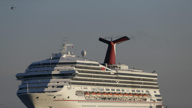 Coast Guard: Cause of cruise ship fire was a leak