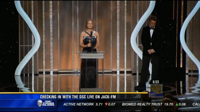 The DSC on News 8: Golden Globes