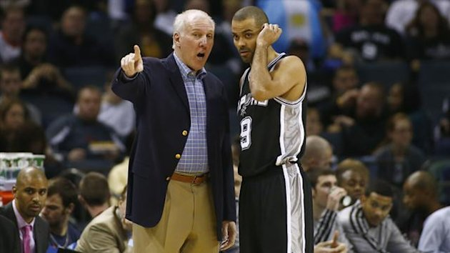 Tony Parker Gregg Popovich