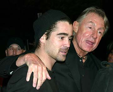 Colin Farrell and Joel Schumacher at the New York premiere of 20th Century Fox's Phone Booth