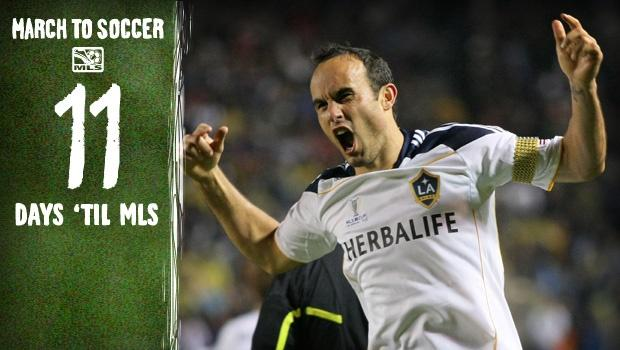 11 days 'til MLS: March to scoring record in store for LD?