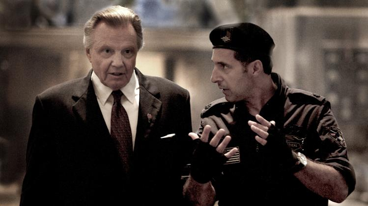 Jon Voight John Turturro Transformers Production Stills Paramount 2009