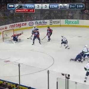 Ben Scrivens Save on Yannick Weber (17:03/2nd)