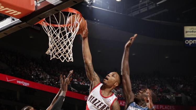 Lillard leads Blazers past T-Wolves 108-97