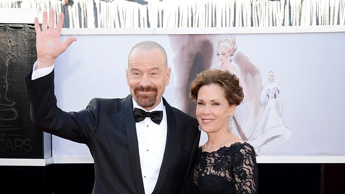 Bryan Cranston and Wife Robin Dearden