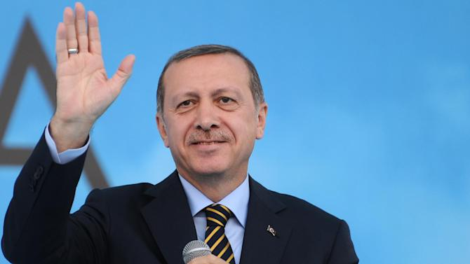 Turkish Prime Minister Recep Tayyip Erdogan on July 25, 2014 in Istanbul