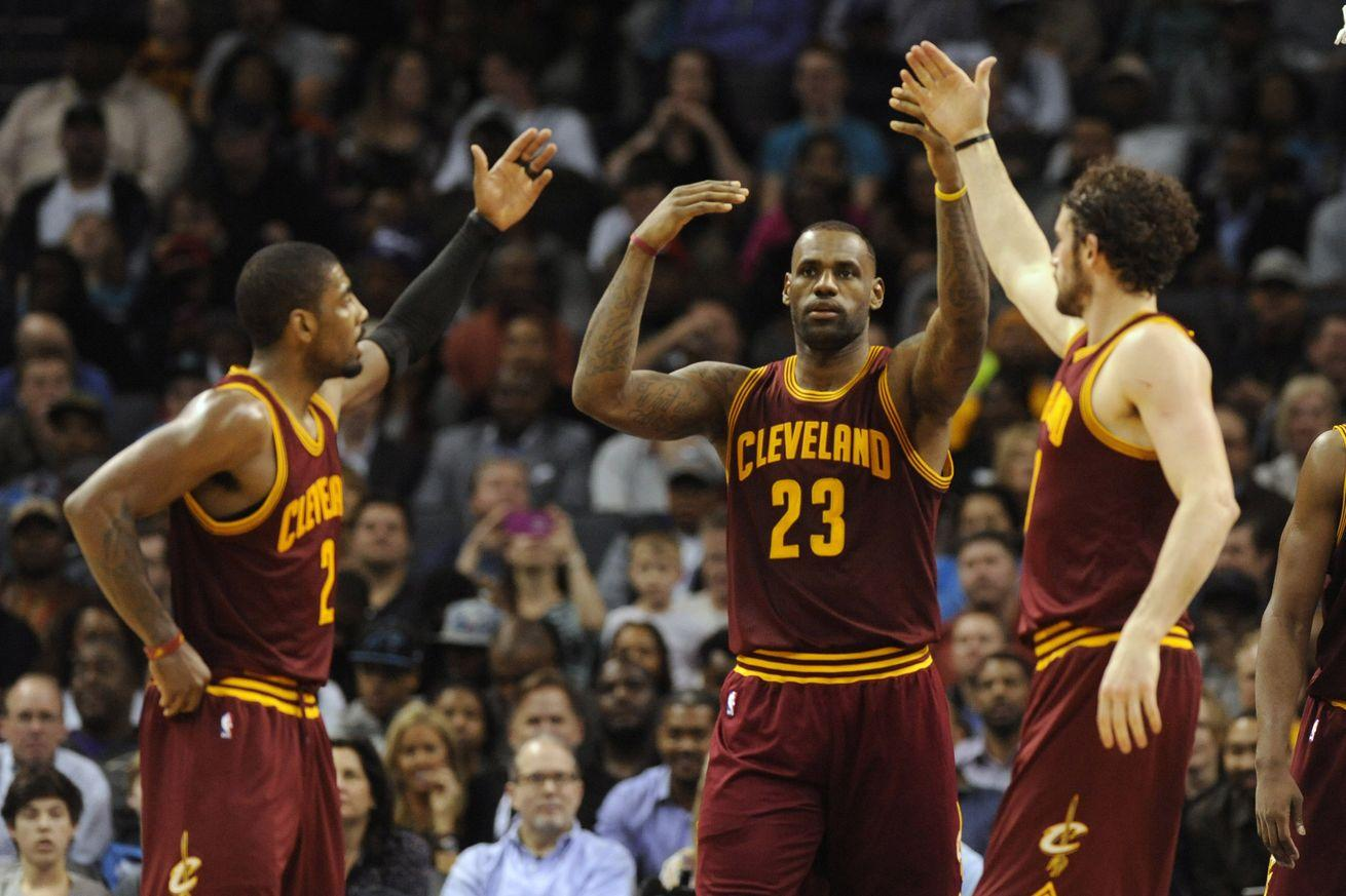 The Cavaliers considered sitting LeBron James, Kyrie Irving, and Kevin Love against the Warriors