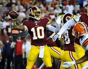 NFL: Preseason-Cleveland Browns at Washington Redskins