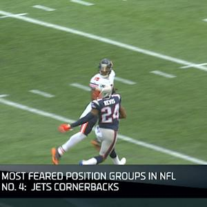 Top 10 scariest position groups: New York Jets' cornerbacks