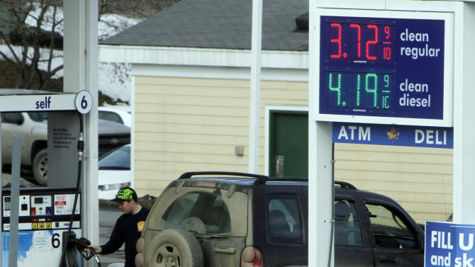 Gas prices are highest ever for this time of year