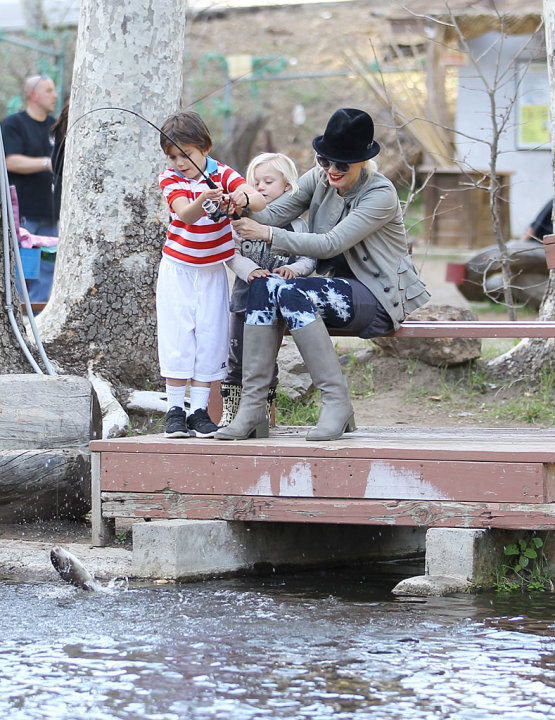 Gwen Stefani, Kingston Rossdale, Zuma Rossdale