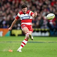 Freddie Burns kicked a late penalty for Gloucester