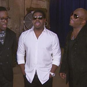 Boyz II Men Back with New Music & Hamburgers?!