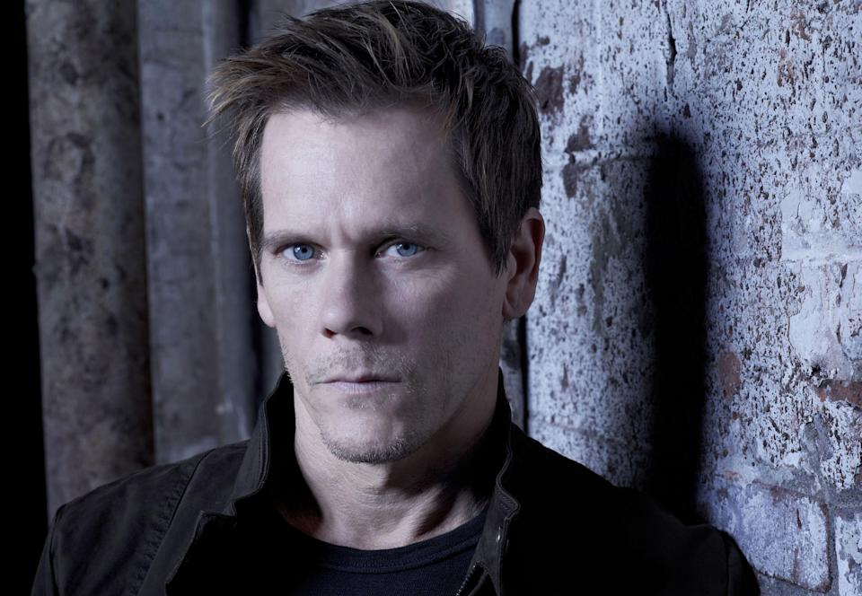 "This undated publicity photo released by FOX shows Kevin Bacon as Ryan Hardy in ""The Following,"" premiering Monday, Jan. 21, 2013,  (9:00-10:00 PM ET/PT) on FOX.  (AP Photo/FOX, Michael Lavine)"