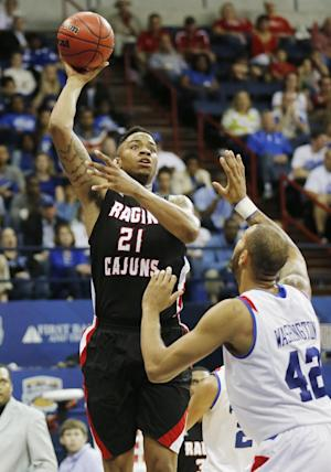 Ragin' Cajuns beat Georgia St 82-81 to reach NCAAs