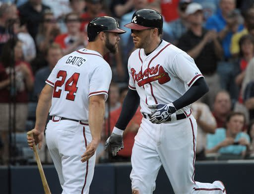 Pena has 4 RBIs, Braves pound Blue Jays 11-3