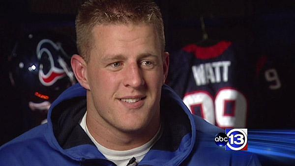 The personal side of Texans star J.J. Watt