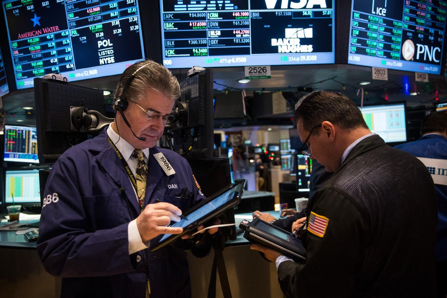 Dow edges to new record; US stocks mostly up